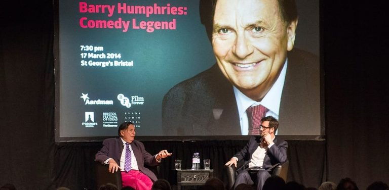 Silent Comedy Spectacular with Barry Humphries at the London Palladium