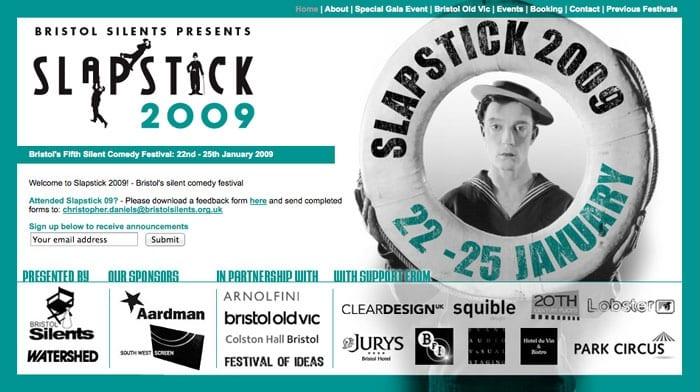 Slapstick Festival 2009
