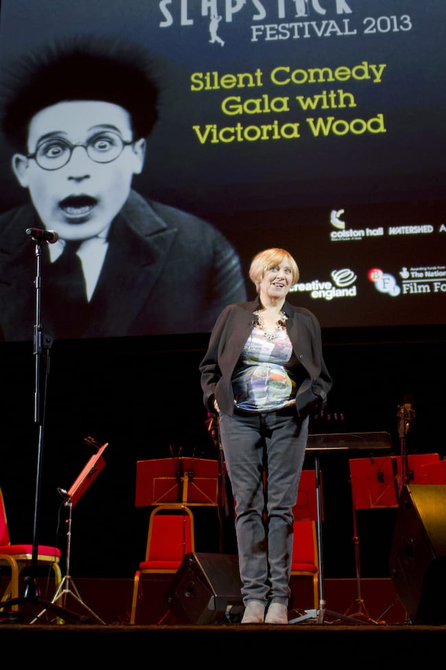 In Photos: When Victoria Wood Hosted The 2013 Slapstick Festival Gala
