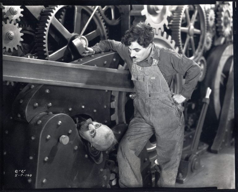 Modern Times   Charlie Chaplin The Composer