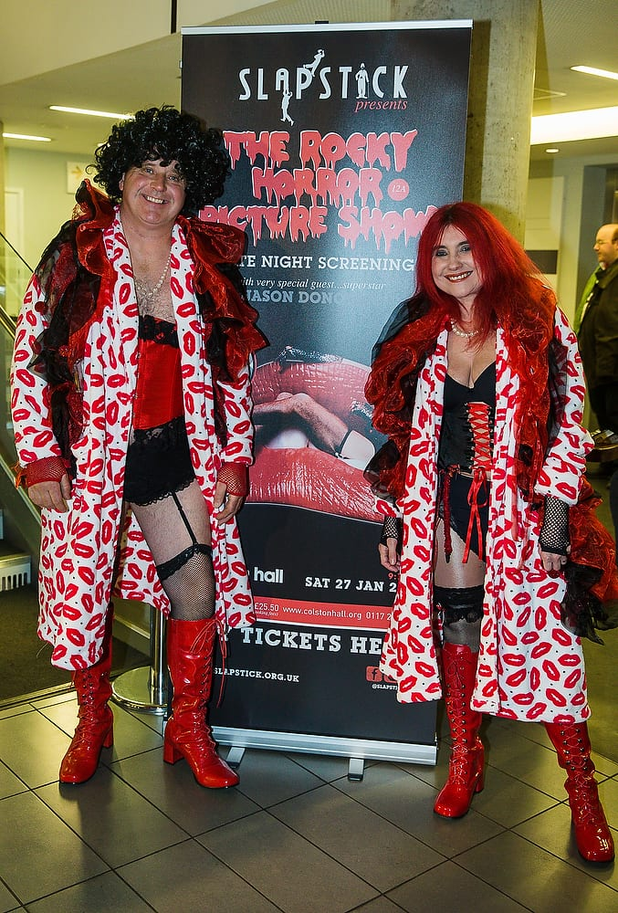 Rocky Horror Best Costume Competition Entrants © David Betteridge