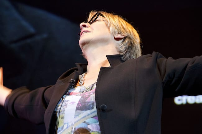 Victoria Wood At Colston Hall Hosting Slapstick Festival Gala 1
