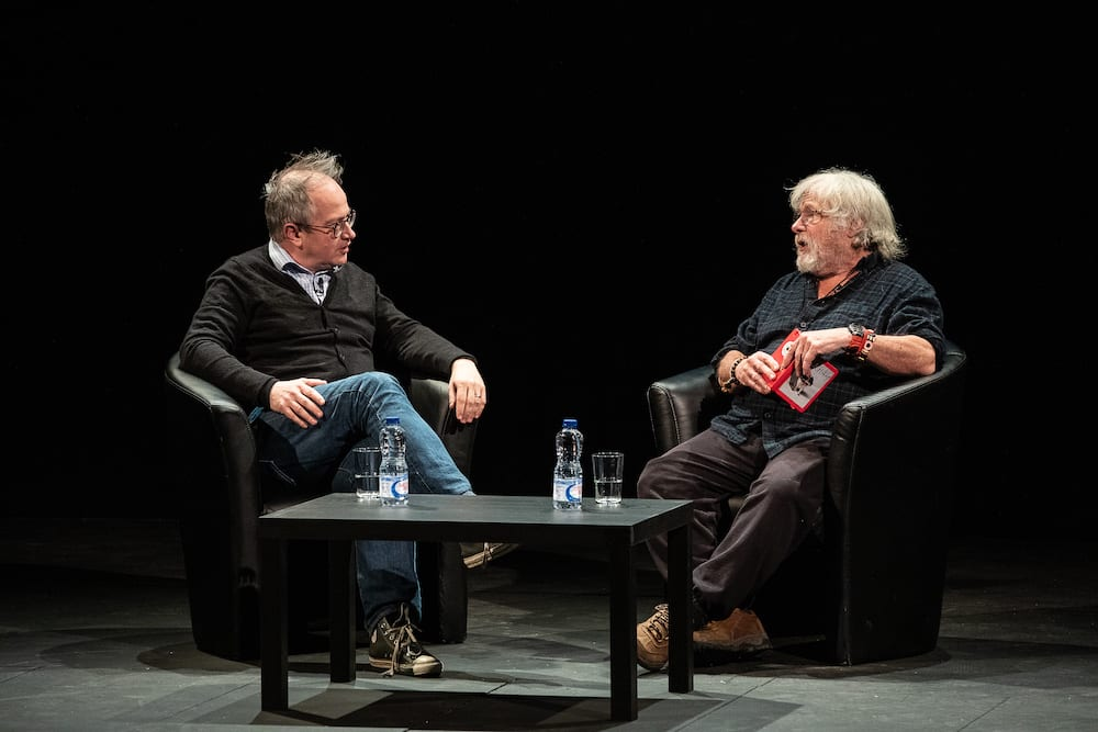 Way out West Bill Oddie Robin Ince 9586