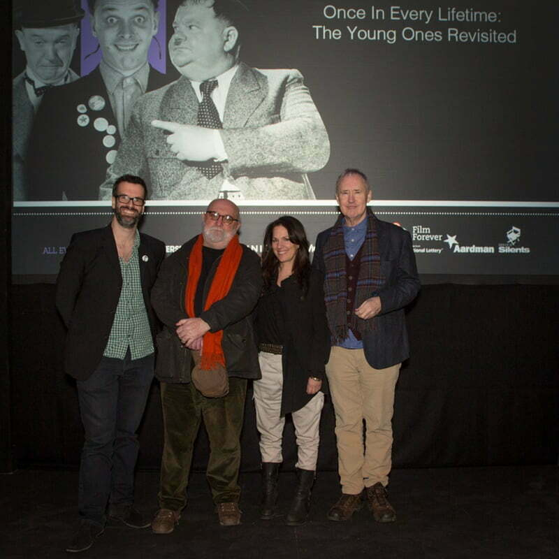 The Young Ones Revisited Marcus Brigstocke Alexei Sayle Lise Mayer Nigel Planer © David Gillett