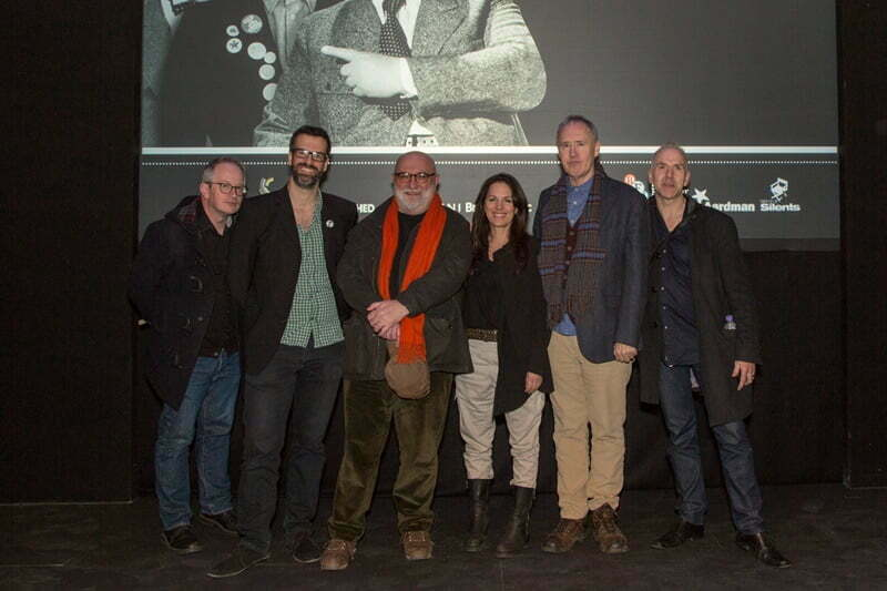 The Young Ones Revisited Marcus Brigstocke Alexei Sayle Lise Mayer Nigel Planer Robin Ince Chris Daniels © David Gillett